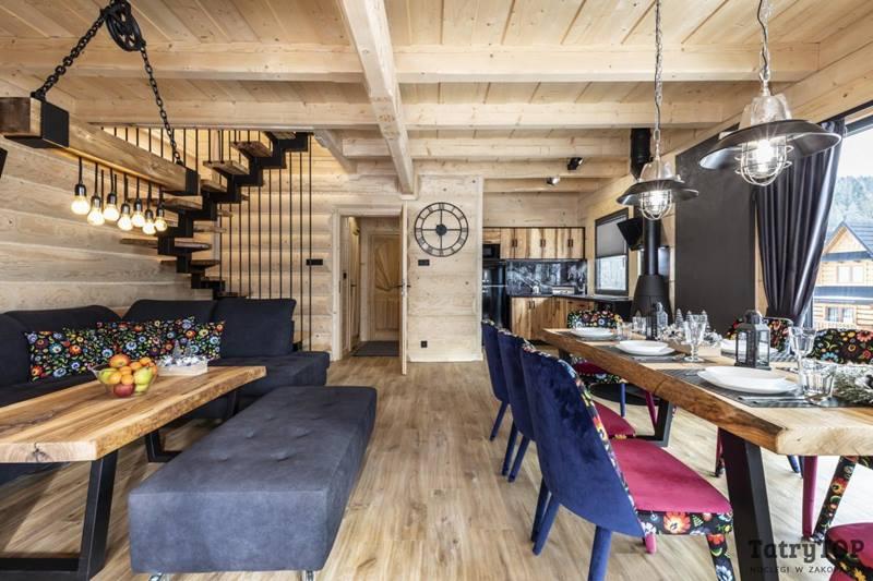 Domki Zakopane Rezydencja Premium Spa Sauna Jacuzzi Pokój Zabaw